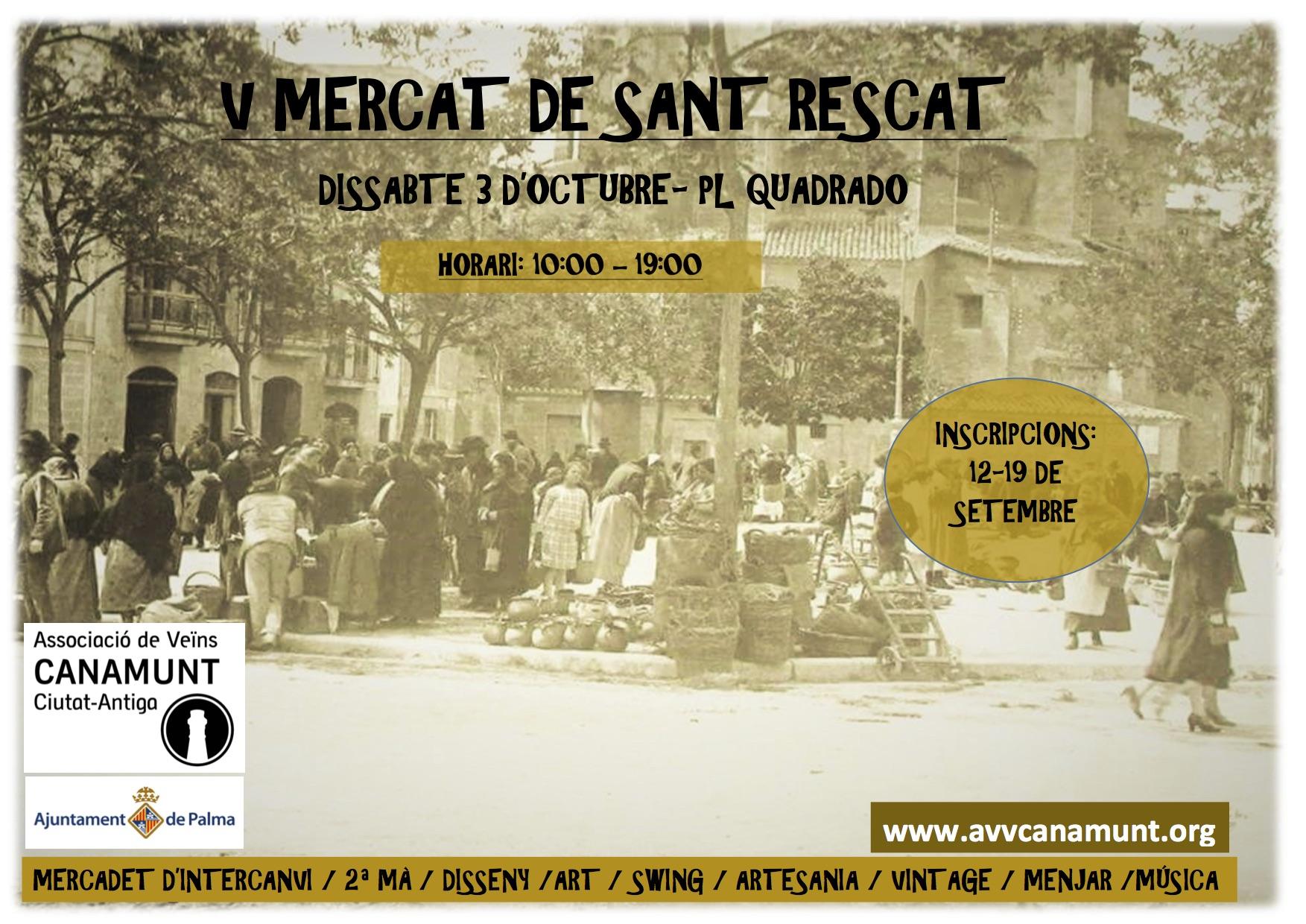 V Mercat de Sant Rescat (03-10-15)