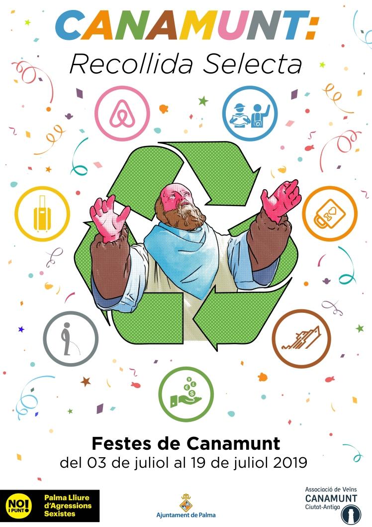Cartell Festes Canamunt 2019